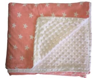 Minky Baby Blanket or Lovey
