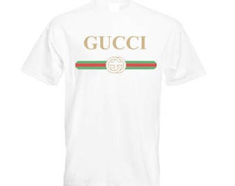 Designer Inspired Vintage Gucci Tee shirt, Woman Men Kids Baby Boy Girl Toddler Gucci T shirt Gift, Retro Luxury Royalty Celine Paris Tshirt