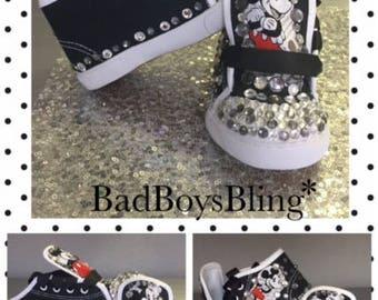 Mickey*Mickey Sneakers* Mickey Kicks* Mickey Mouse Party*Mickey Custom Shoes* Mickey Mouse Boys Custom Shoes*Mickey Birthday Party*