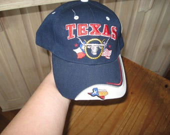 TEXAS embroidered cap, new