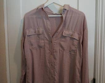 Purple French Style shirt