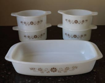 Dynaware Pyr-o-Rey Casserole Dishes - Set of 5