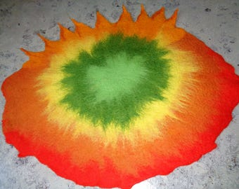 Tablecloth, table runner, placemat, table decorations, felt blanket, felt tablecloth