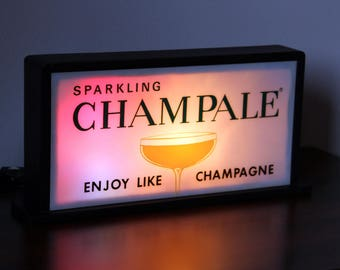 Mid Century CHAMPALE Blinking Bar Light