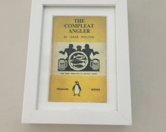 Classic Penguin Book cover print- framed - The Compleat Angler