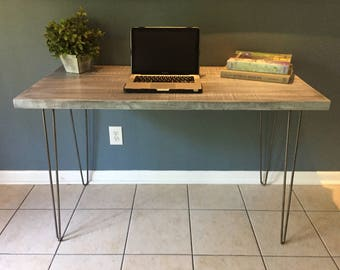 Reclaimed, Wood, Industrial, Modern, Chic, Rustic, Computer Desk, Laptop