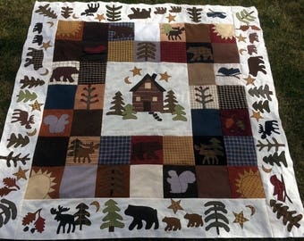 A Little Country Comfort Quilt Kit & Pattern