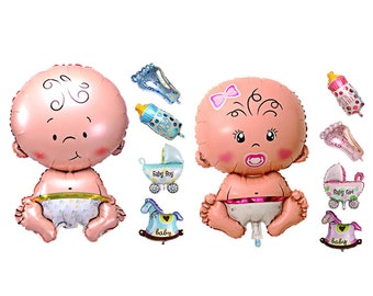 Baby Giril Balloon Set