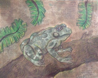Forest Toad (Unmatted print)
