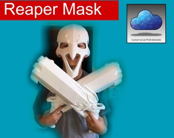 Reaper Mask - Overwatch - 3D Printed