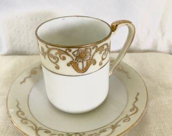 Vintage Espresso Cup