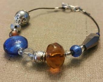 Harry Potter Bracelet - Ravenclaw - Blue and Bronze