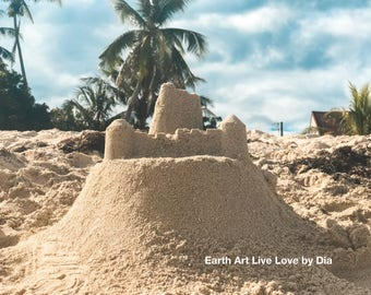 Instant Download-Beach Sandcastle