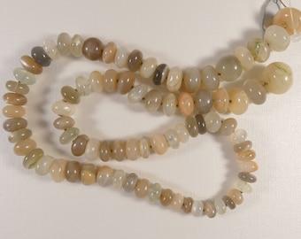 Moonstone Beads, Moonstone, Gemstones