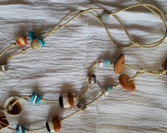 Coral Beach Necklace