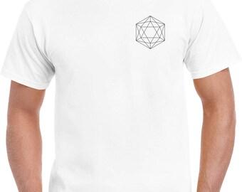Geometric T-shirt White