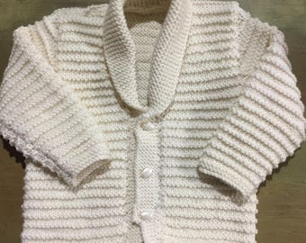 Cardigan with Shawl collar
