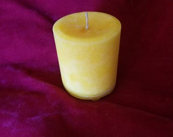 Citronella Pillar Candle Short