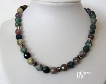 Beautiful agate necklace