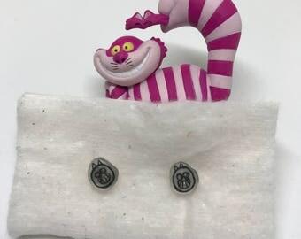 Disney Alice in Wonderland Cheshire Cat Earrings