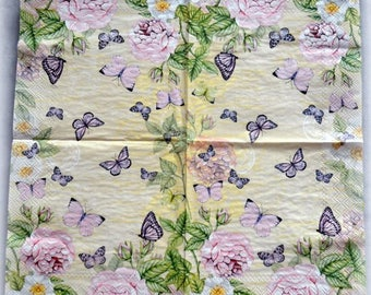 Paper napkins,napkins for decoupage and scrapbooking