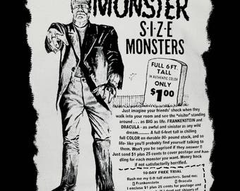 Monster Size Monsters Tee