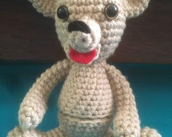 Amigurumi Bear with Egg
