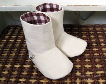 72 Charlie Baby Boots PDF Sewing Pattern