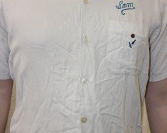 70s bowling shirt