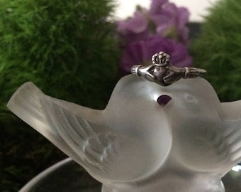 Vintage Silver Claddagh Ring in Sterling | Claddagh Ring | Silver Claddagh Ring | Wedding Ring