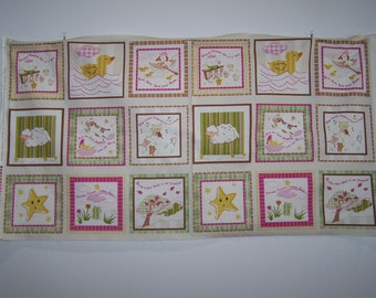 Nursery Ryhems With Coordinating Fabric