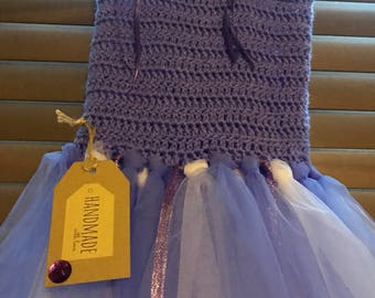 Handmade purple tutu aged 3-4 years