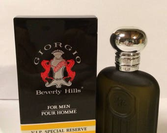Giorgio Beverly Hills VIP Special Reserve Extraordinary AfterShave Splash 1.7oz