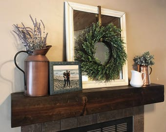 The Very Good Mantel | Fireplace Mantel | Wood mantel | Custom Mantel | Fireplace Mantle