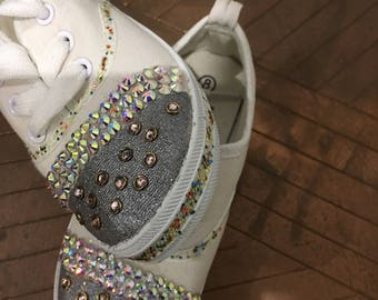 Bling fun kids sneakers