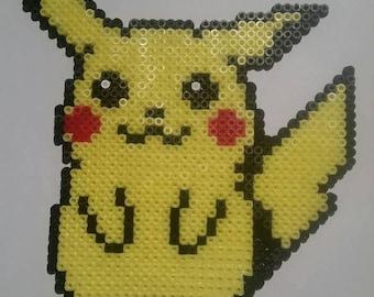 Pikachu 20x18.5cm Hama beads