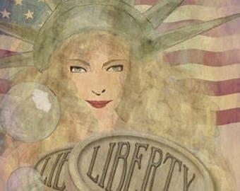 Statue of Liberty soap