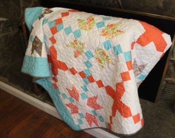 Crossroads- Finished Quilt