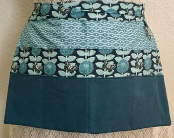 Vendor Apron, Waitress Apron, Teacher Apron, Gardeners Apron, Half Apron, Crafters Apron, Utility Apron, Fabric Apron,100% Cotton, Cotton
