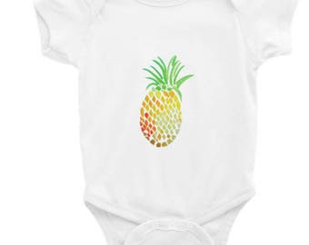 Holla Back Co. Pineapple Onesie