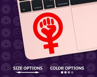 feminism decal, feminist decal, feminism sticker, feminism vinyl, feminist car decal, funny feminism, protest decal, equal rights decal
