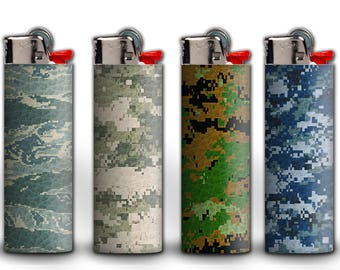 Military Camo Lighters