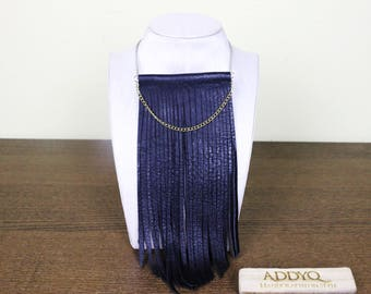 Leather Necklace ( Bold Series)