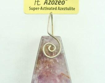 AZOZEO™ Auralite-23™ Spiral wrapped Pendant #814