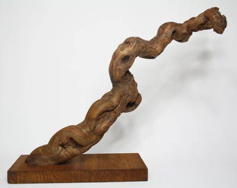 Natural wood sculpture. Original design