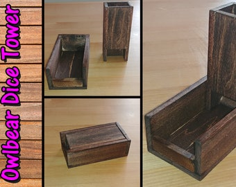 Table Top Dice Tower for D&D, Pathfinder, etc