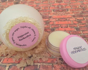 Peppermint Lip Plumping Set