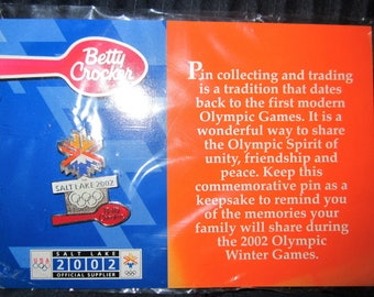 2002 Betty Crocker Winter Olympics pin
