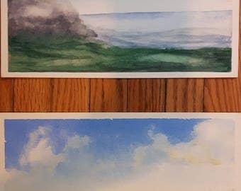 Landscape Diptych