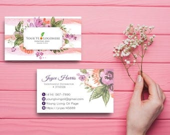 Essential Business Card, Custom YL Business Card, Custom Business Card, Printable Business Card - Printable Business Card - YL45